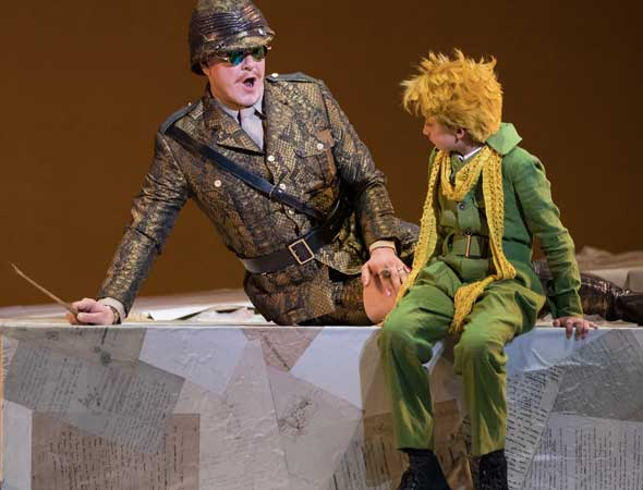 Front Row Reviewers: Utah Opera's The Little Prince in Salt Lake City Makes Our Hearts See Like Never Before