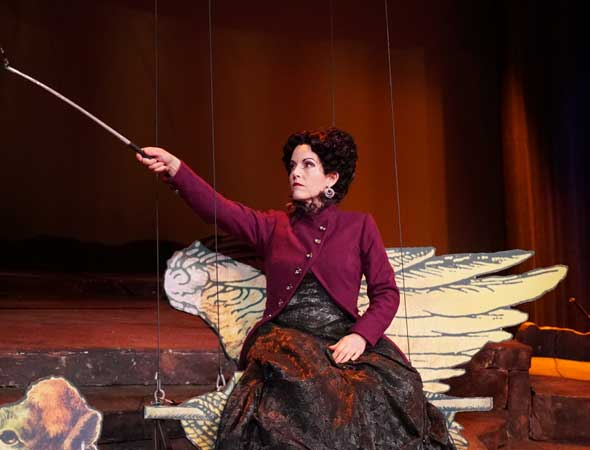 Deseret News – Meet the Utah mom who doesn't mind being a terrible mother in Utah Opera's 'The Magic Flute'