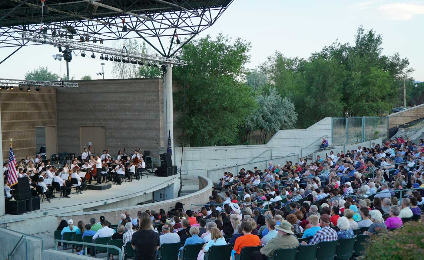 Música de la Utah Symphony en West Valley City