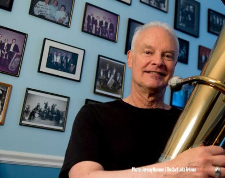 Salt Lake Tribune – After a record-breaking 36 years with Utah Symphony, tuba player retiring on a high (low) note