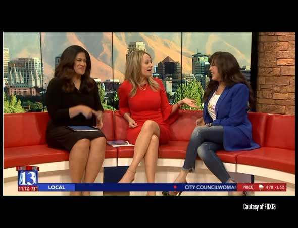 Fox13 – Marie Osmond talks about upcoming concert with the Utah Symphony; being a 'Utah girl'