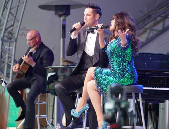 Front Row Reviewers – At the Deer Valley Music Festival in Park City, Marie Osmond With the Utah Symphony Is a Little bit Country and a Whole Lot of Glam