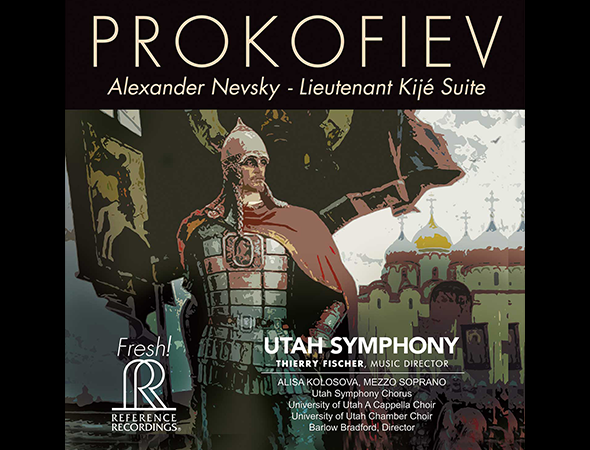 Thierry Fischer and Utah Symphony's All-Prokofiev Album, Featuring Concert Works Inspired by the Composer's Film Scores, to Be Released by Reference Recordings, October 25