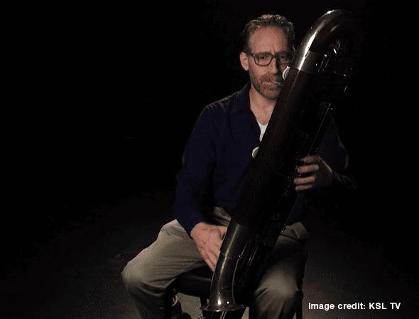 KSL TV – Contrabass Instruments Turn Heads, Help Musicians 'Feel' Tunes