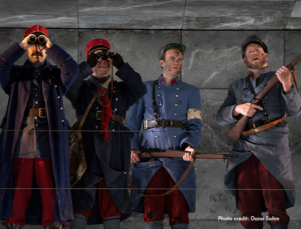 "Utah Arts Review – Utah Opera brings war and peace to the stage with ""Silent Night"""