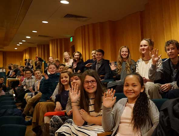 Utah Symphony Welcomes 18,000 Students to Abravanel Hall for Annual Fifth Grade Docent Concerts