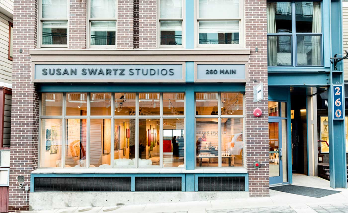 String Quartet at Susan Swartz Studios