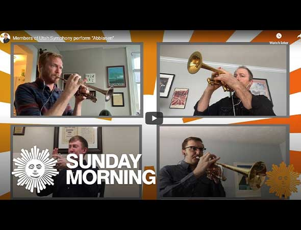Deseret News – Watch: Utah Symphony trumpet players make it on 'CBS Sunday Morning'
