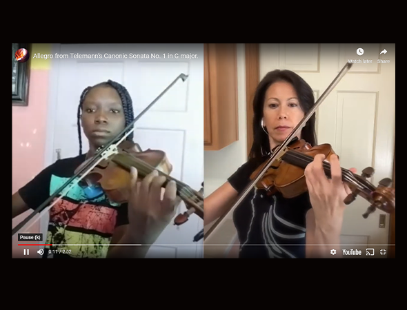 KSL TV – Utah Symphony Performs Virtual Duets With Haitian Youth
