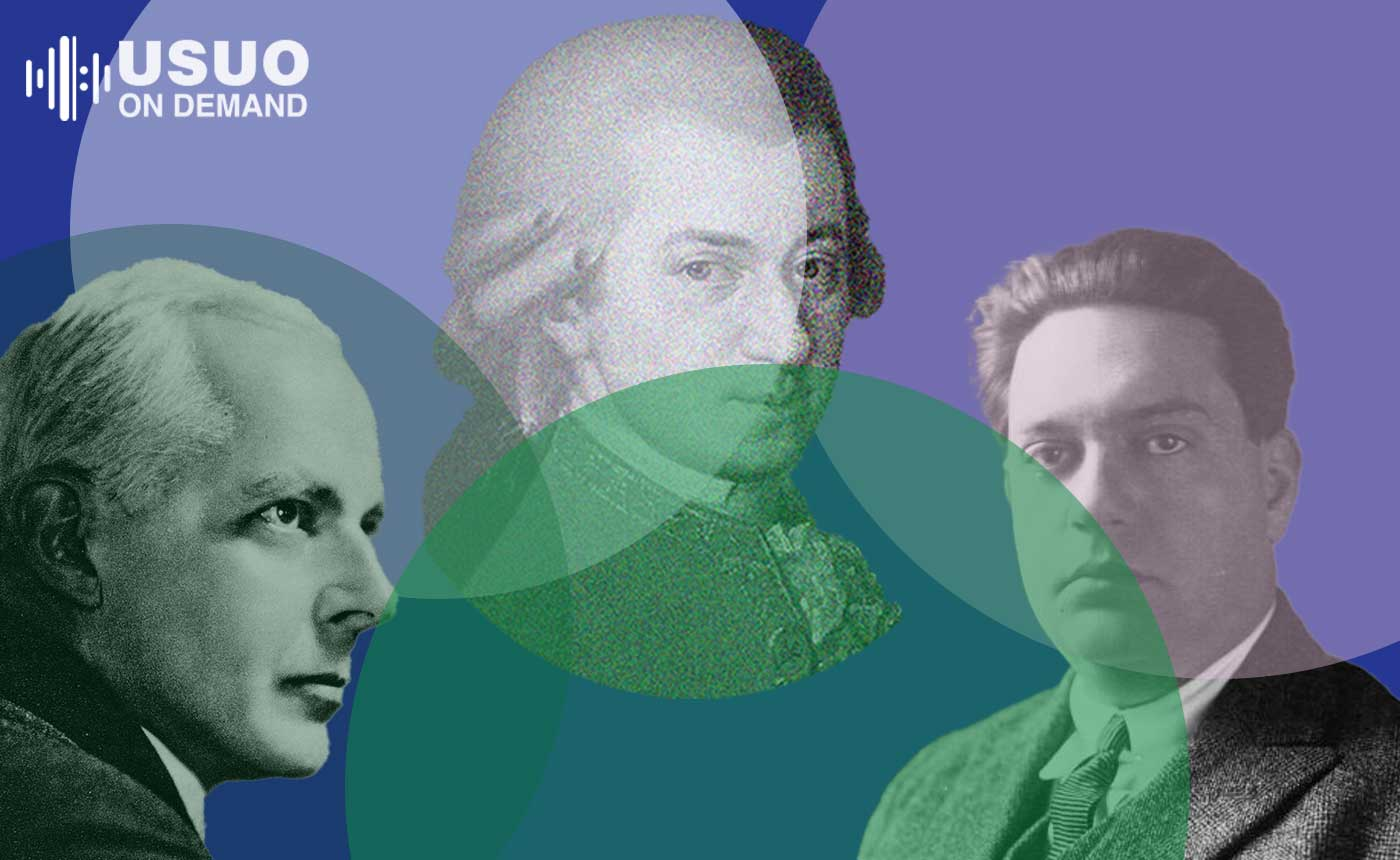 Mozart's Divertimento for Wind Quintet with Milhaud, Arnold & Bartók (Streaming 12/3/2020-1/2/2021)