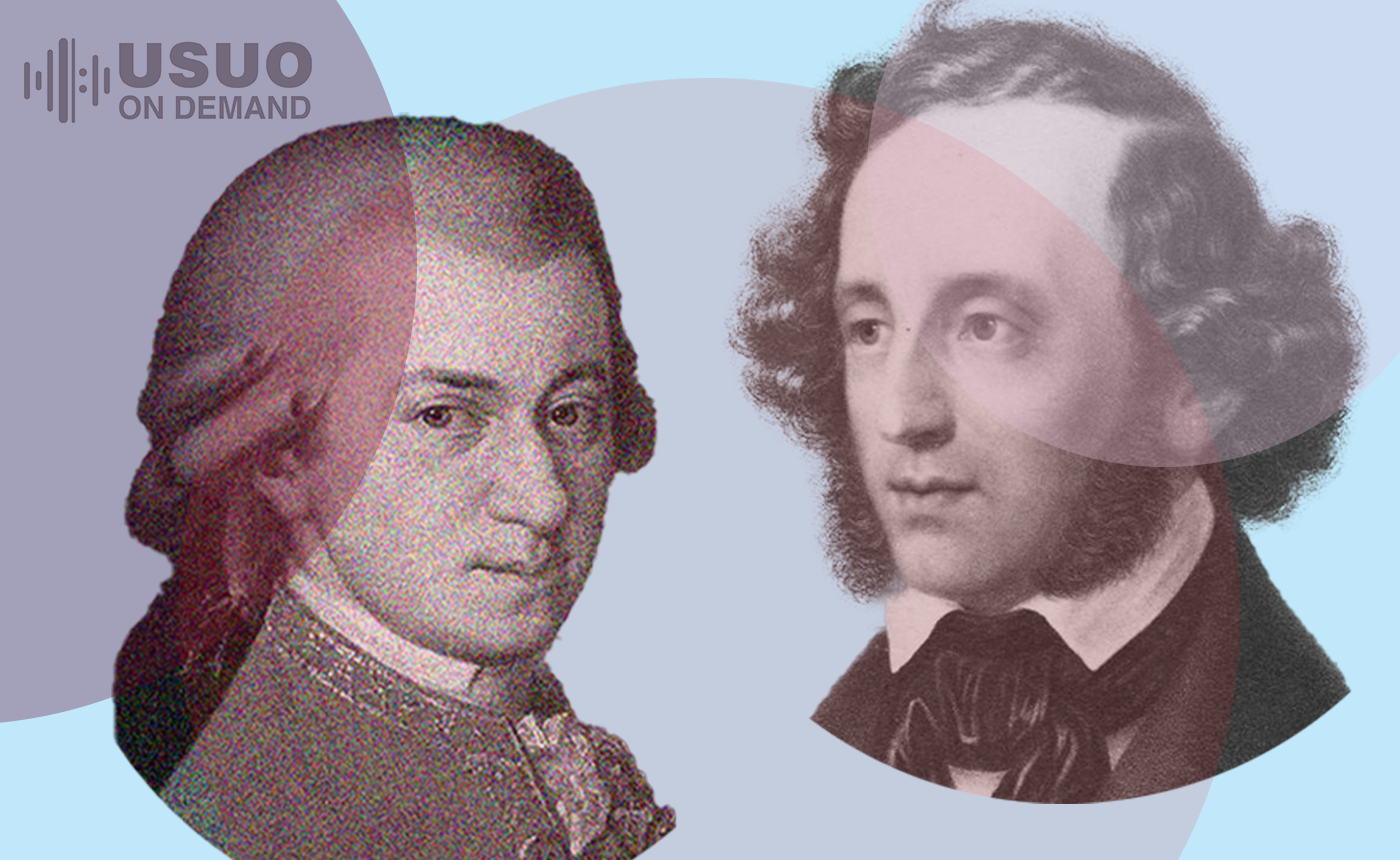 Mozart & Mendelssohn String Quartets (Streaming 11/5-12/5/20)