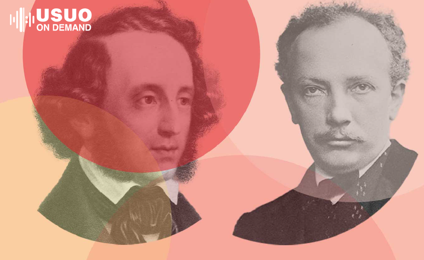 "Mendelssohn's ""Scottish"" Symphony with Strauss' Metamorphosen"