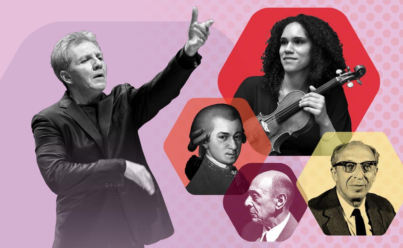 Thierry Fischer conducts Jessie Montgomery, Mozart, Schoenberg & Copland Finishing Touches Rehearsal