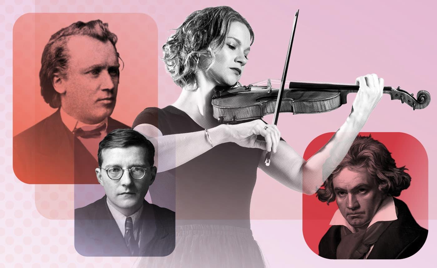 Hilary Hahn plays Brahms at the Noorda