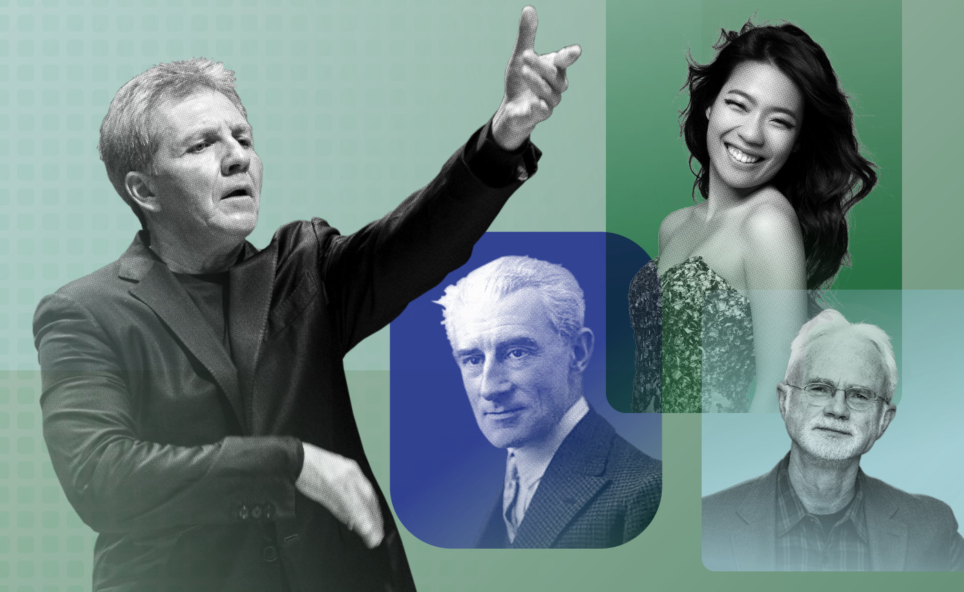 Thierry Fischer conducts Ravel, Liszt & John Adams