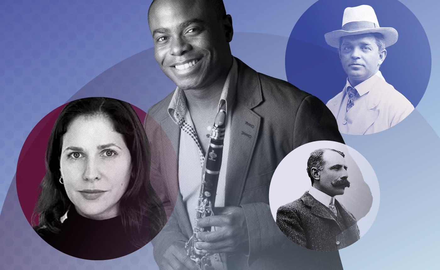 Thierry Fischer conducts Haydn 11, Arlene Sierra, Nielsen & Elgar