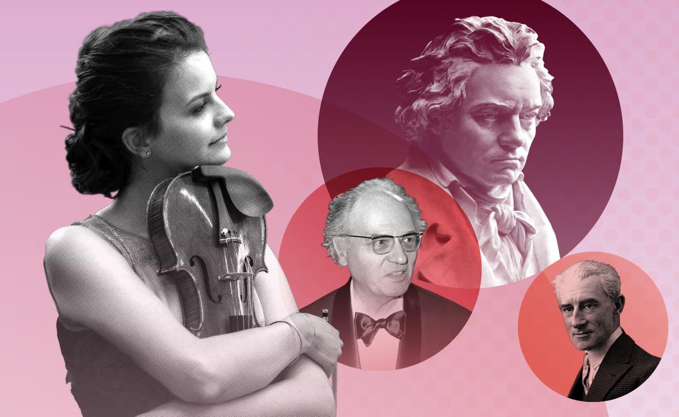Beethoven's Violin Concerto, Messiaen & Ravel