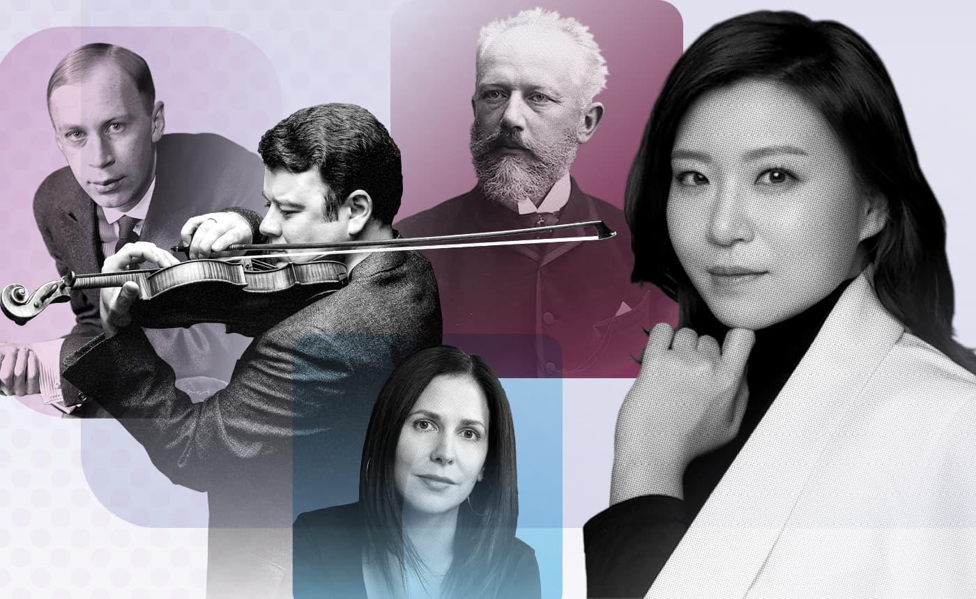 Shiyeon Sung conducts Tchaikovsky 4, Arlene Sierra & Prokofiev