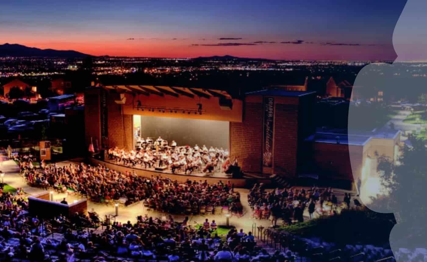 Utah Symphony at the Draper Amphitheater