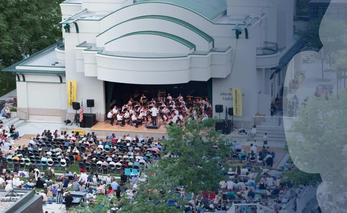 Utah Symphony at the Gallivan Center