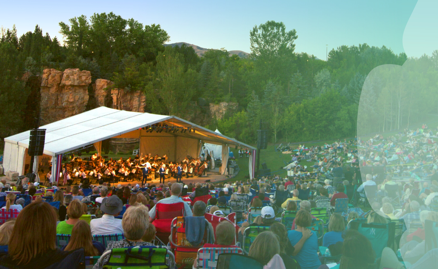 Utah Symphony at the Waterfall at Thanksgiving Point
