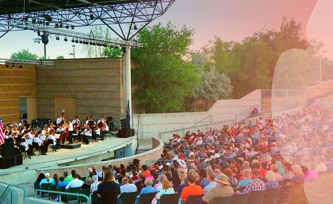 Música de la Utah Symphony en West Valley City
