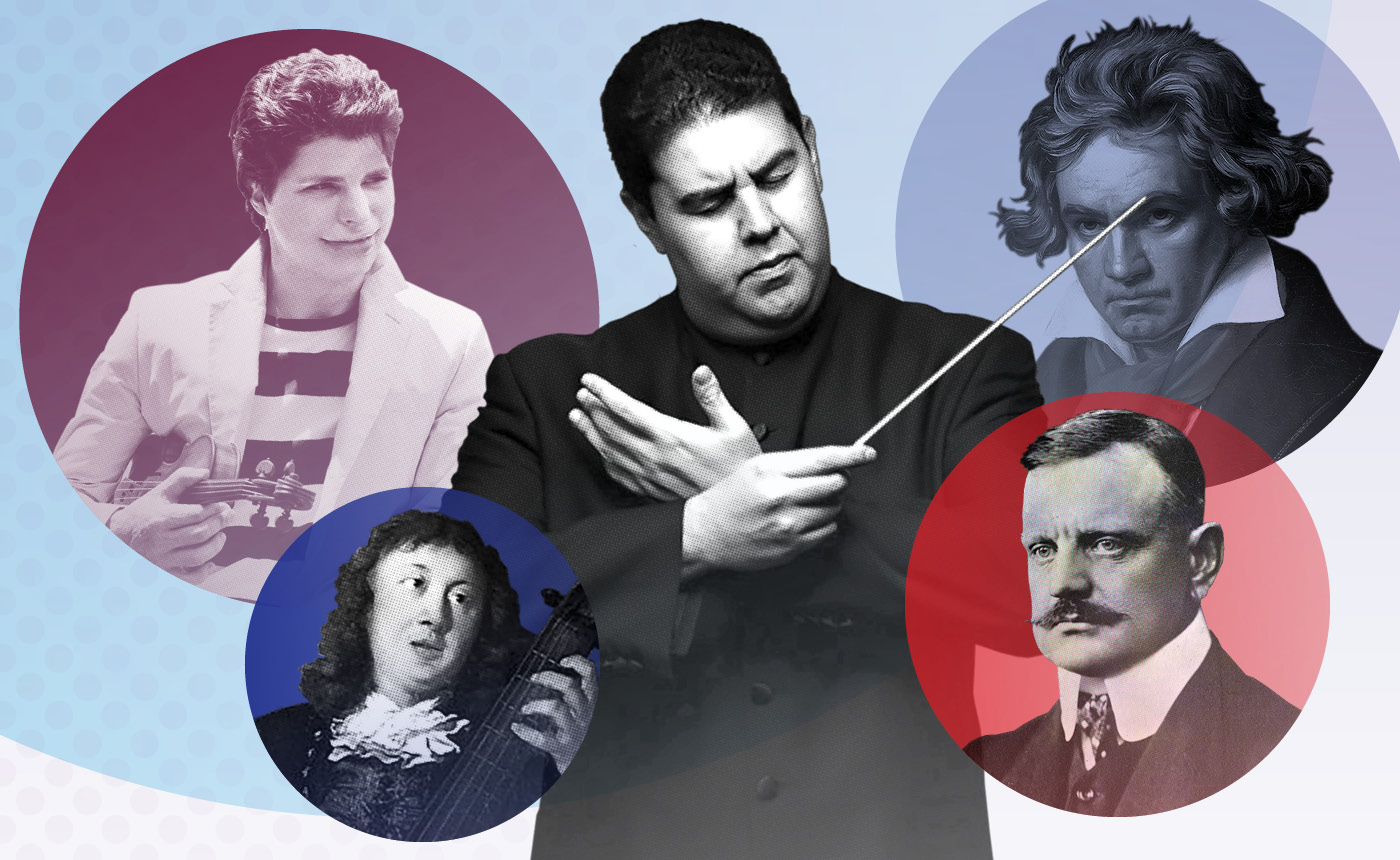 Tito Muñoz conducts Beethoven 6, Sibelius & Buxtehude (in Ogden)