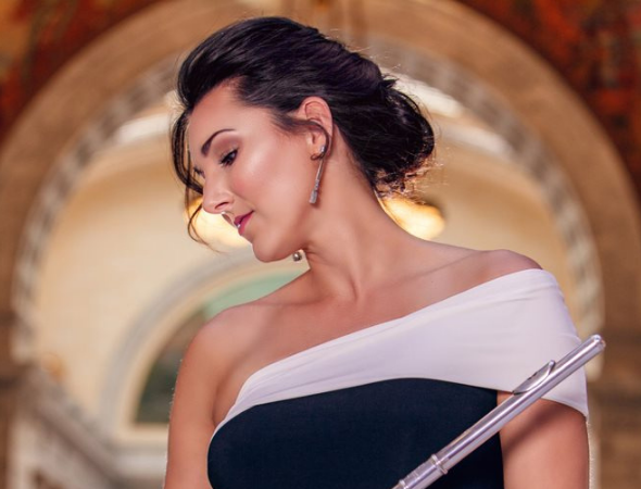 Park Record – Flutist adds whimsy to Mozart concerto during a Deer Valley Music Festival chamber concert