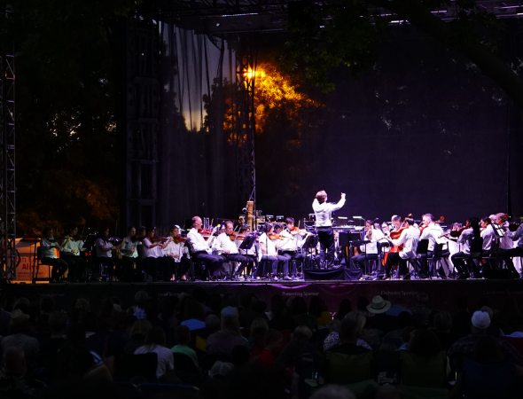 St. George Spectrum & Daily News – Utah Symphony crescendos near Zion National Park in Forever Mighty Tour finale post-flood