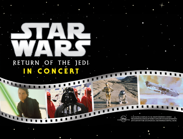 Star Wars: Return of the Jedi in Concert to Feature Iconic Score Performed Live to Film