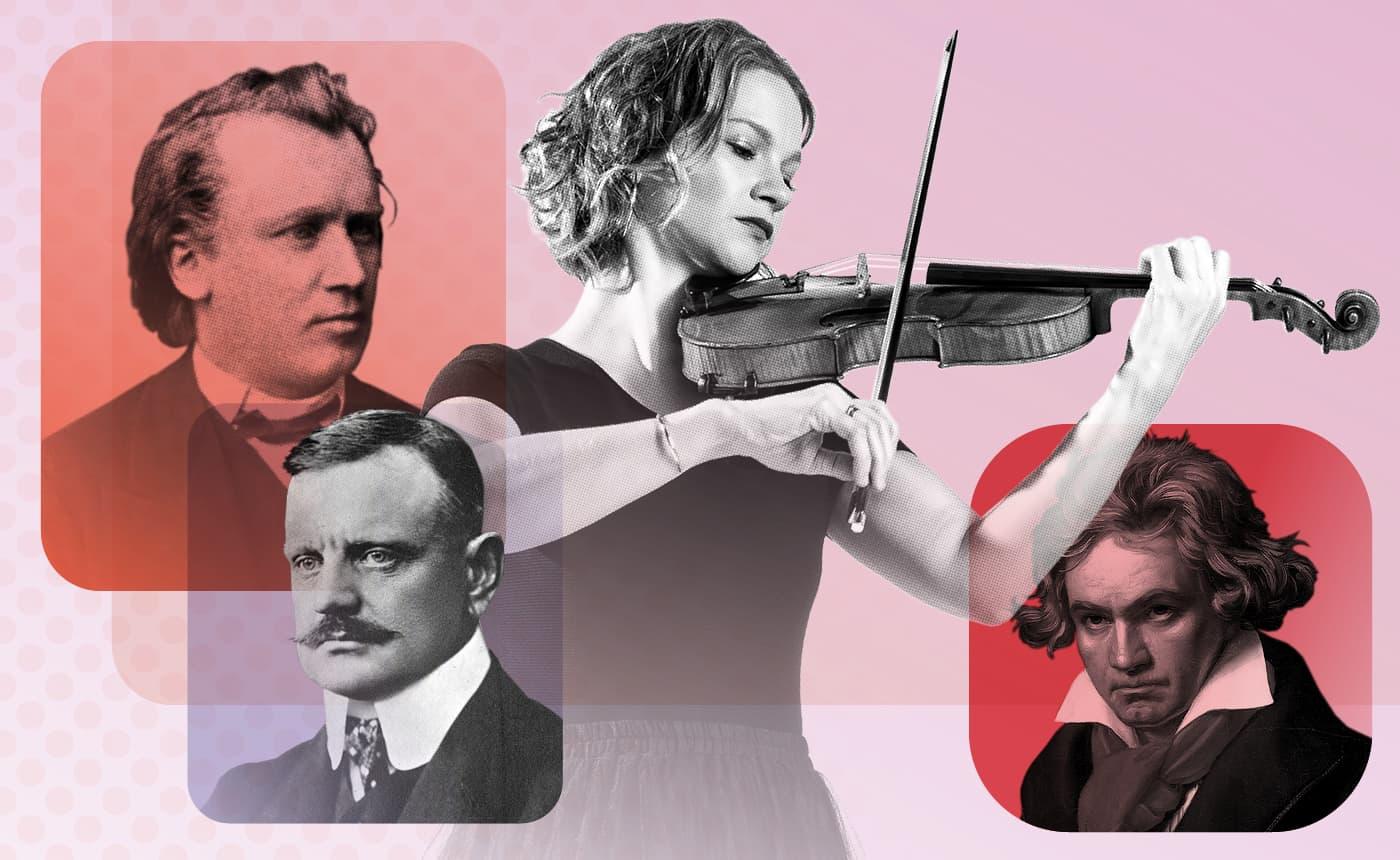 Hilary Hahn plays Brahms