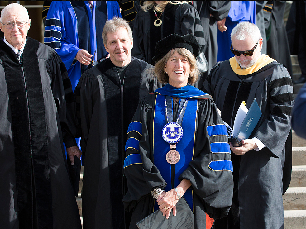Thierry Fischer at Utah State University Graduation