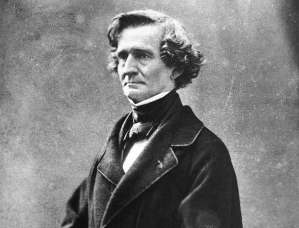 Photograph of Hector Berlioz by Félix Nadar