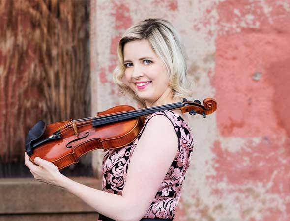 Kathryn Eberle, associate concertmaster