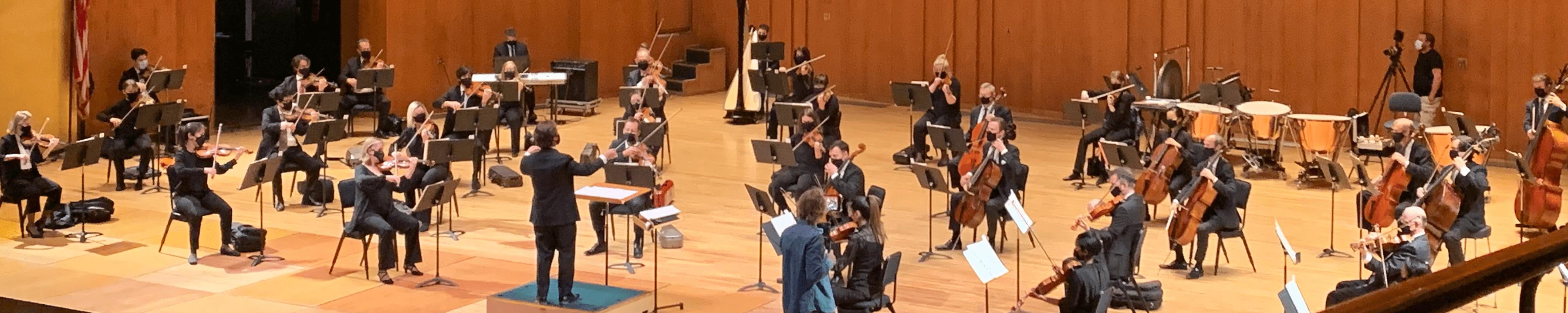Utah Symphony performing
