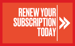 Renew Your subscription today