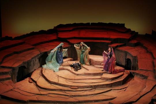 The Three Ladies find Tamino, The Magic Flute