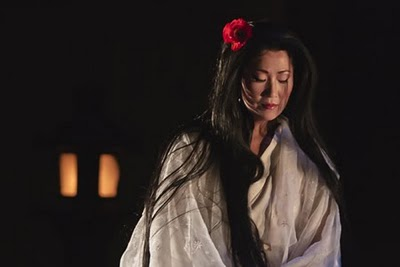 Yunah Lee portraying Madame Butterfly