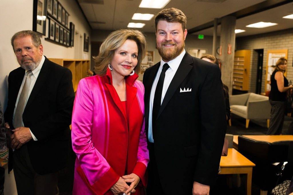 Renée Fleming with Utah Opera Resident Artist Christopher Oglesby