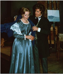 Kathleen Thompson as Mimì and Utah Opera Founder Glade Peterson as Rodolfo in the 1978 production.