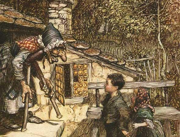 Illustration by Arthur Rackham, 1909