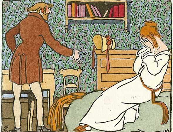 Henry Murger's Scénes de la Vie de Bohème, published by René Keiffer in Paris in 1921.