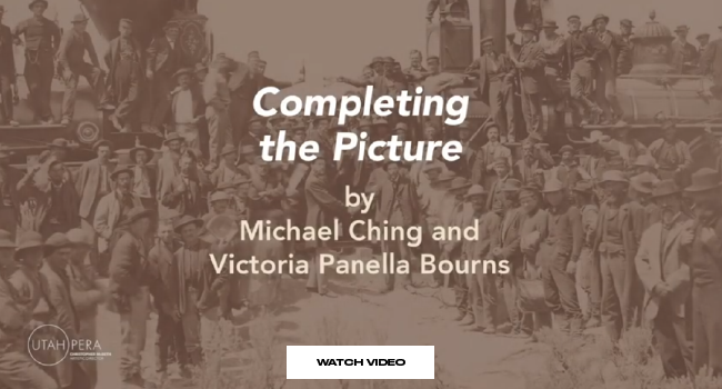 """Completing the Picture by Michael Ching and Victoria Panella Bourns"