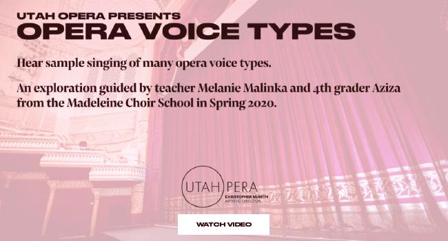 Opera Voice Types