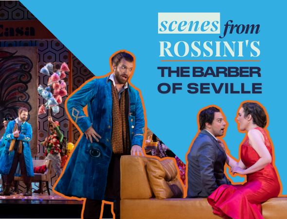 Scenes from The Barber of Seville